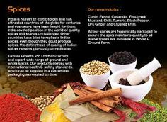 Indian #Spices Make The #Food Delicious And Colorful To Eat