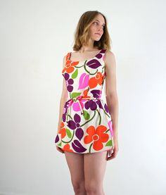 1960s Swimsuit / Vintage 60s Bathing Suit / Cole by jessjamesjake, $168.00
