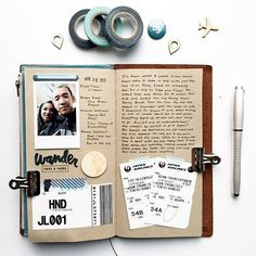 Photos, tickets and memories. Sometimes you need nothing more in a travel journal.