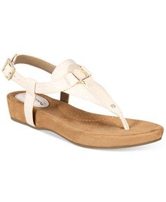 28dfe28871 Giani Bernini Raisaa Footbed Sandals, Created for Macy's & Reviews - Sandals  & Flip Flops - Shoes - Macy's