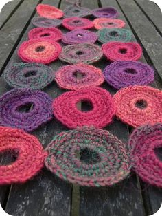 I'm making this for myself, as a means to learn how to crochet. :)