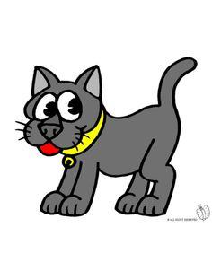 Disegno di maialino a colori per bambini gratis for Disegno gatto facile