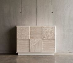 D155 sideboard cabinet material DESIGN TRAMA . 100% hand made in Italy www.marchettimaison.com Sideboard Cabinet, Handmade Furniture, Material Design, Italy, How To Make, Collection, Sideboard, Craftsman Furniture, Italia