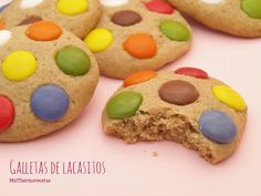 Galletas de lacasitos - MisThermorecetas