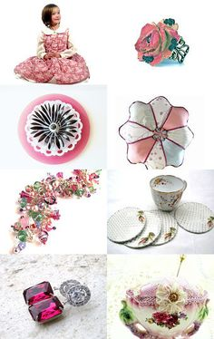 SO PRETTY IN PINK by Donna Allen on Etsy--Pinned with TreasuryPin.com