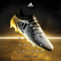 adidas X 16+ from the Stellar Pack. Take over the galaxy. Buy it here: http://www.soccerpro.com/adidas-X-Soccer-Shoes/