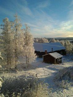 Hacksjö vintern -14