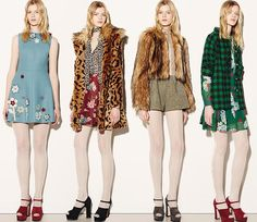 RED Valentino Fall/Winter 2015-2016 Collection - New York Fashion Week  #fashion