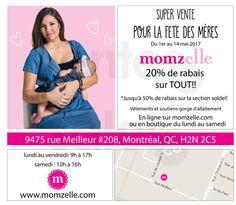 Vente Momzelle de la fête des mères | lesventes.ca