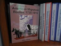 Mappy Monday – Map Guide to American Migration Routes, 1735 – 1815