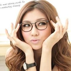 1522212a82f AnnSmile Chunky Glasses( UV400) Casual Tops