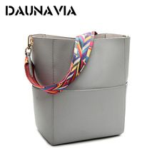 9dc7b3ac956 DAUNAVIA Luxury Handbags Women Bag Designer Brand Famous Shoulder Bag Female  Vintage Satchel Bag Pu Leather