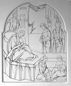 Realistic masterpiece coloring pages ~ Orthodox Icon Coloring Pages | Orthodoxy | Pinterest ...