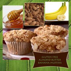 ... ! Gluten-Free! | Food | Pinterest | Muffins, Bananas and Gluten free