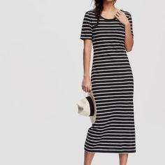Old Navy Dresses - Old Navy Striped Midi Dress
