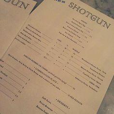 Friday BBQ Night  @shotgunbbq #shotgunbbq #bbq #american #lovelondon #londoneats #londondining #londonrestaurants #soho #kingslystreet #londonfoodie #foodie #weekend #tgif #friday #happyfriday #yay #dinner #mmm #menu #cantdecide #yesplease