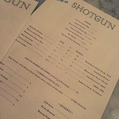 Friday BBQ Night  @shotgunbbq #shotgunbbq #bbq #american #lovelondon #londoneats #londondining #londonrestaurants #soho #kingslystreet #londonfoodie #foodie #weekend #tgif #friday #happyfriday #yay #dinner #mmm #menu #cantdecide #yesplease