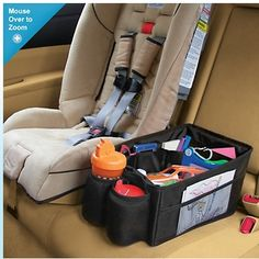 "Momformation's ""Is Your Car Organized?"" post recommends our following products to get control of your car: Our Travel Pal Carseat Organizer, Backseat Car Organizer, Car Floor TrashStand Litetrbug & Family Car Organizer"