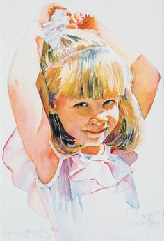 Jane Paul Angelhart watercolor