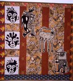 Image detail for -African American Art Quilters - Galleries African Love, African Theme, African American Art, African Quilts, African Textiles, African Fabric, Quilting Projects, Quilting Designs, Liberty Quilt