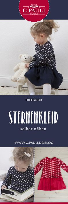 DIY Sternenkleid aus Interlock | C.Pauli Nature Blog