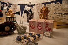 'Home Runs & Hot Dogs' Housewarming Party coming this summer - Vintage Baseball Party