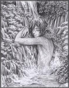Waterfall by `Saimain on deviantART