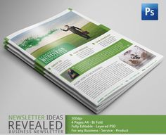 Great Business Newsletter Template