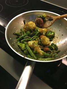 Vegetable wok!