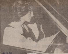 October 20, 1982: Princess Diana out shopping with her Lady in waiting, Anne Beckwith-Smith.