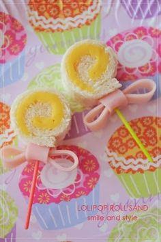 『Lollipop sand & Tokyu BE』 Rice Krispie Treats, Rice Krispies, How To Make Lollipops, Candy Castle, Kitchen Time, Garden Party Wedding, Brownie Cookies, Cute Food, Food Design