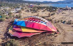 Do Lab Premiered Their Biggest Structure Ever At Portugal's Boom Festival! - Festival Sherpa | Online Guide to Festivals
