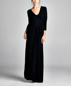 Look what I found on #zulily! Black Maxi Dress #zulilyfinds