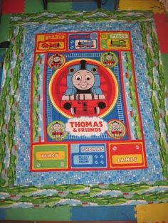 Thomas & Friends: The Color Express KIT – Suzy Q's Quilting ... : thomas quilt - Adamdwight.com