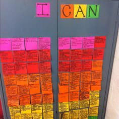 """I can statements: at the end of everyday, students share what can now do based on what they learned that day. At first they just told me what they learned. Now, they use statements """"I can..."""". They've been taught the verbs to use based on the depth of knowledge that the topic was taught under."""