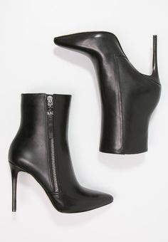 DAWSON - High Heel Stiefelette - black - Zalando.de Michael Kors, High Heels, Booty, Ankle, Shoes, Black, Fashion, Photo Illustration, Moda