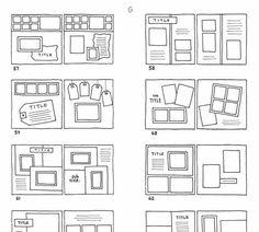 Free Scrapbook Sketches – Scrap Booking