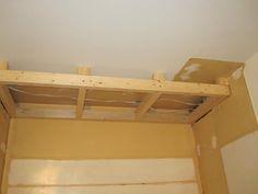 kitchen ceiling bulkheads - Google Search Stairs, Ceiling, Google Search, Storage, Kitchen, Furniture, Home Decor, Purse Storage, Cuisine