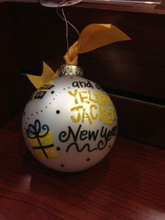 diy yellow jacket ornament - Google Search