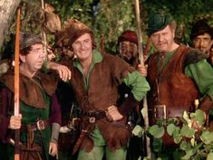 Errol Flynn in Korngold's scoring of  The Adventures of Robin Hood.