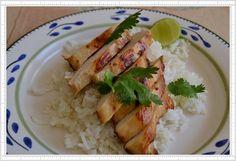 Pollo estilo asiático, muy versátil para servir! ensalada, arroz, tortas, sándwiches, etc!