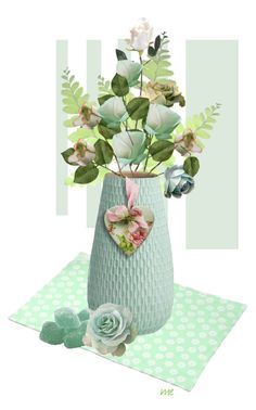 """""""Mint Rose"""" by elsiemarley22 ❤ liked on Polyvore"""