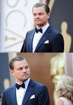 A very daper Leonardo DiCaprio