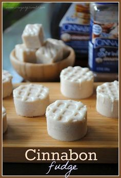 Cinnabon Fudge Recipe from shugarysweets.com