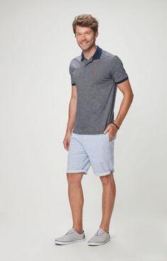 055449b849 Camisa polo adulto Malwee - Camisa polo tradicional masculina adulto  Malwee. Possui detalhe interno em