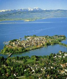 Lindau, Bodensee is just a short ride from Munich and well worth visiting.