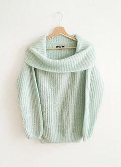 Kup mój przedmiot na #vintedpl http://www.vinted.pl/damska-odziez/swetry-z-dzianiny/15757612-bik-bok-moherowy-gruby-swetrek-mietowy-pastelowy-mint-golf-oversize