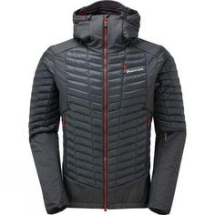 At home in a wide range of fall and winter cold-weather activities, the lightweight MONTANE Quattro Fusion jacket delivers cutting-edge performance and the dependable warmth of down insulation. Mens Outdoor Jackets, Climbing Harness, Zip Puller, Hand Warmers, Snug Fit, Motorcycle Jacket, Perfect Fit, Overalls, Winter Jackets