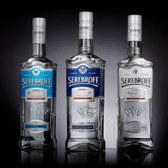 Serebroff Vodka on Packaging of the World - Creative Package Design Gallery