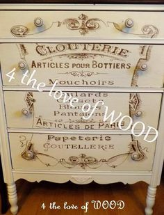 ARTICLES DE PARIS - french dressing chest